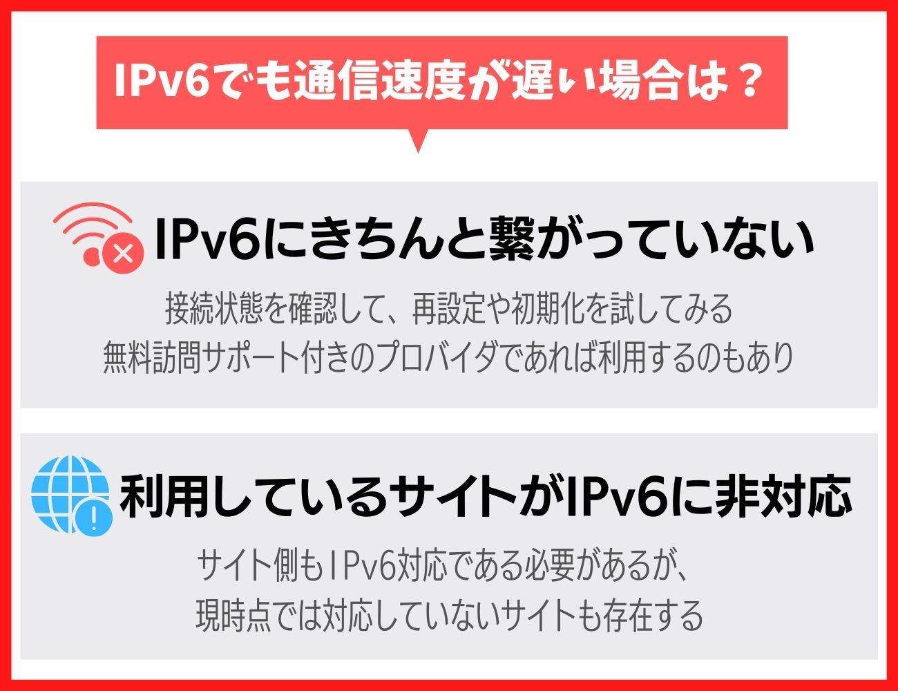 ドコモ光でIPv6を使っても通信速度が遅くなるときの原因と対処法