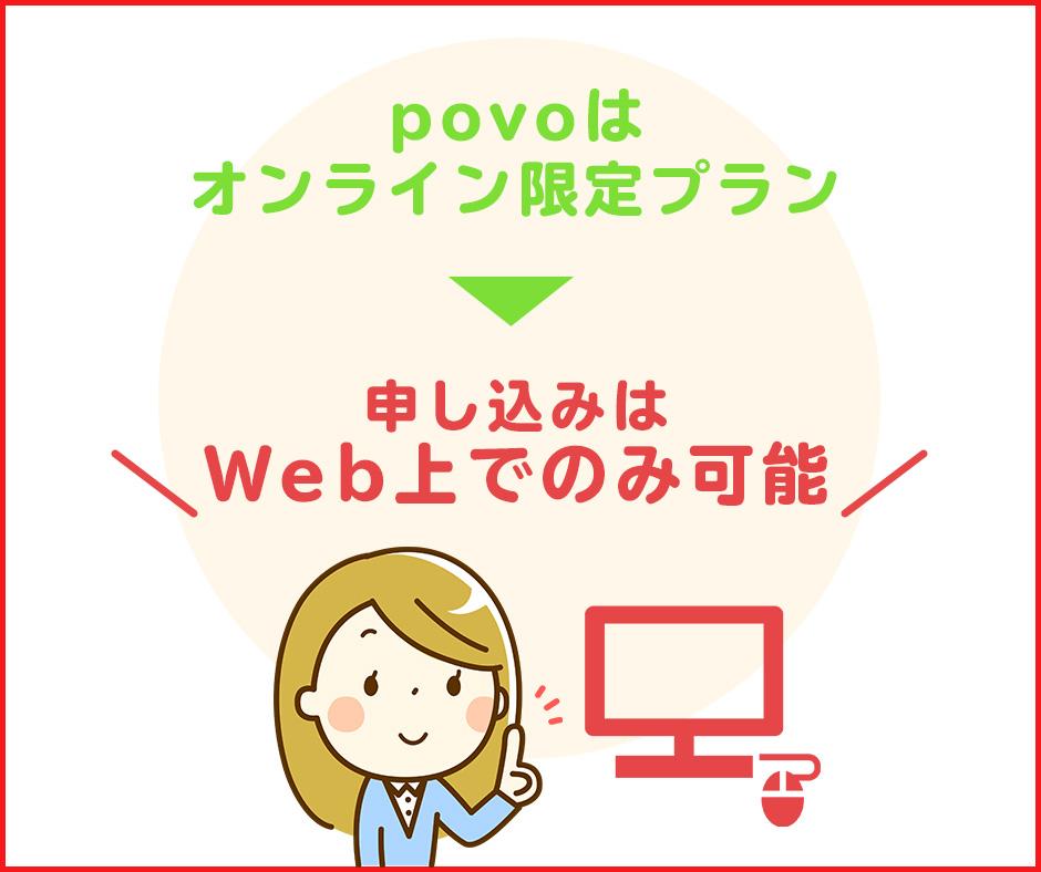 Webでpovoを申し込む|SIMの選択と本人確認に注意